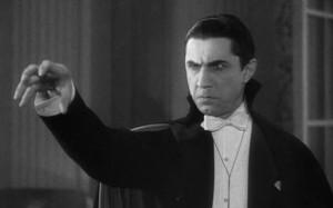 Bela Lugosi in the 1931 Dracula