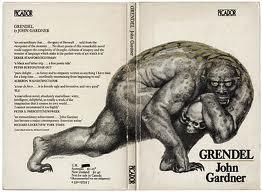The cover of John Gardner's book Grendel
