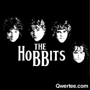 The Hobbits by Qwertee.com