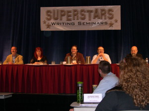 The first Superstars of Writing Seminar