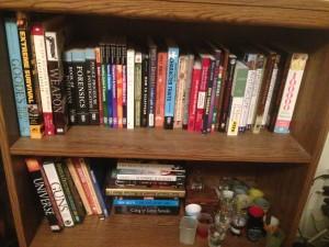 Writing Bookshelf