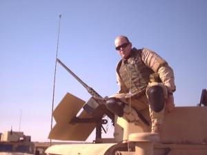 Matt on a HumV