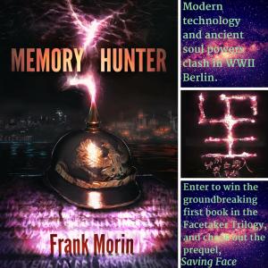 Memory Hunter Goodreads promo image