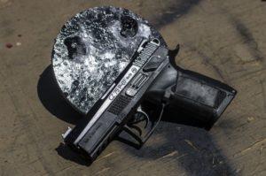 A CZ-75 Semi-automatic pistol