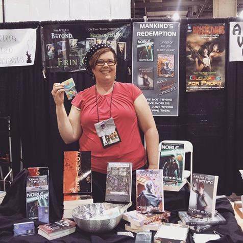 2016 phoenix comicon booth