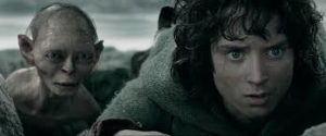 Frodo and gollum