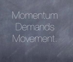Momentum quote
